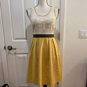 Anthropologie a'reve Dress Lace Sleeveless Small